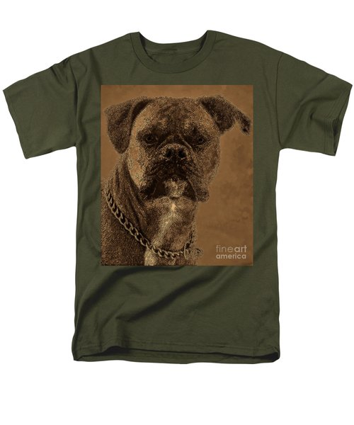 The Modern Boxer Bulldog T-Shirt by Lesa Fine