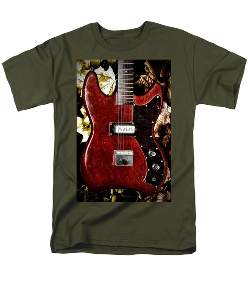 The Red Guitar Blues T-Shirt by Bill Cannon