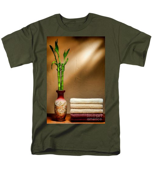 Towels and Bamboo T-Shirt by Olivier Le Queinec