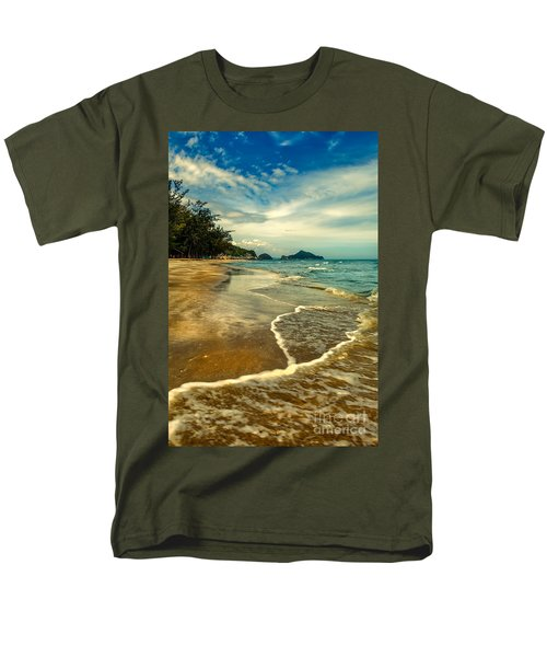 Tropical Waves T-Shirt by Adrian Evans