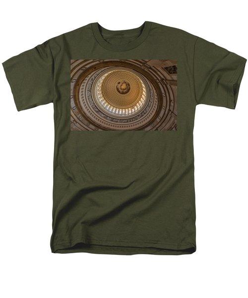 U S Capitol Rotunda T-Shirt by Steve Gadomski