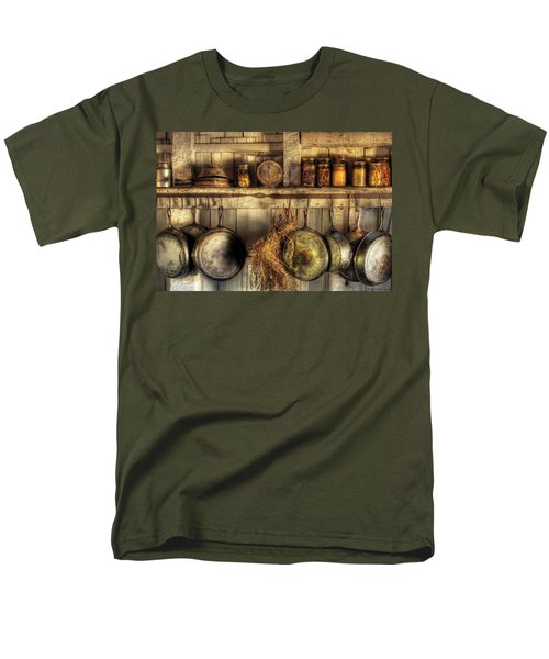 Utensils - Old country kitchen T-Shirt by Mike Savad