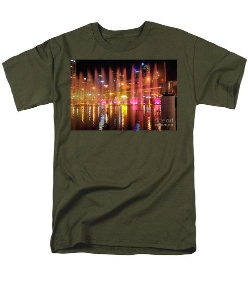 VIVID SYDNEY by Kaye Menner -  Vivid Aquatique  T-Shirt by Kaye Menner