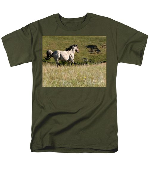 Wild Appaloosa Running away T-Shirt by Sabrina L Ryan