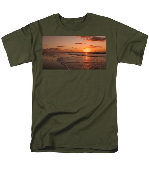 Wildwood Beach Sunrise II Men's T-Shirt  (Regular Fit) by David Dehner