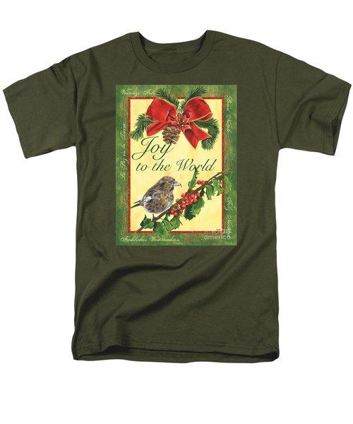 Xmas Around The World 2 Men's T-Shirt  (Regular Fit) by Debbie DeWitt
