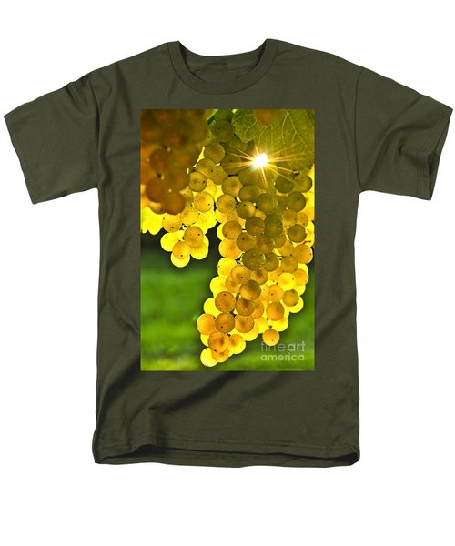 Yellow grapes T-Shirt by Elena Elisseeva