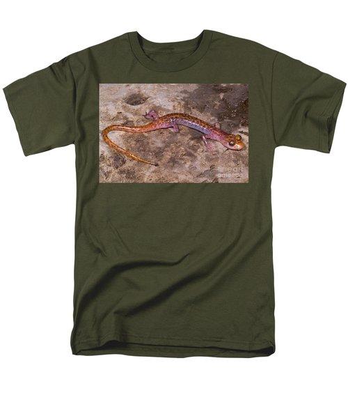 Cave Salamander Men's T-Shirt  (Regular Fit) by Dante Fenolio