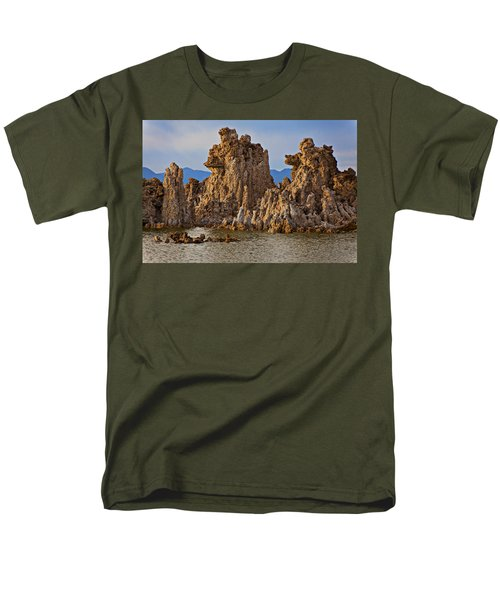 Tufa Mono Lake California T-Shirt by Garry Gay