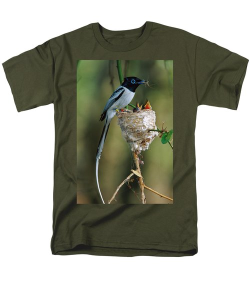 Madagascar Paradise Flycatcher T-Shirt by Cyril Ruoso