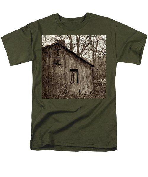 Abandoned Farmstead Facade T-Shirt by John Stephens