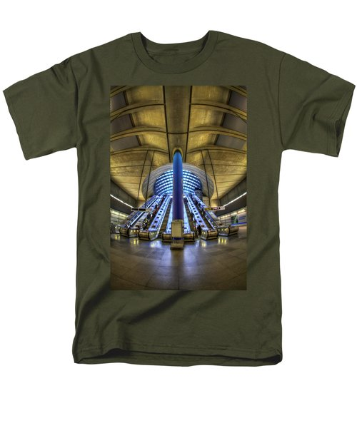 Alien Landing Men's T-Shirt  (Regular Fit) by Evelina Kremsdorf