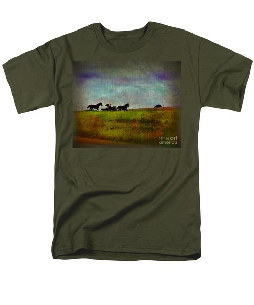 Country Wagon 2 T-Shirt by Perry Webster