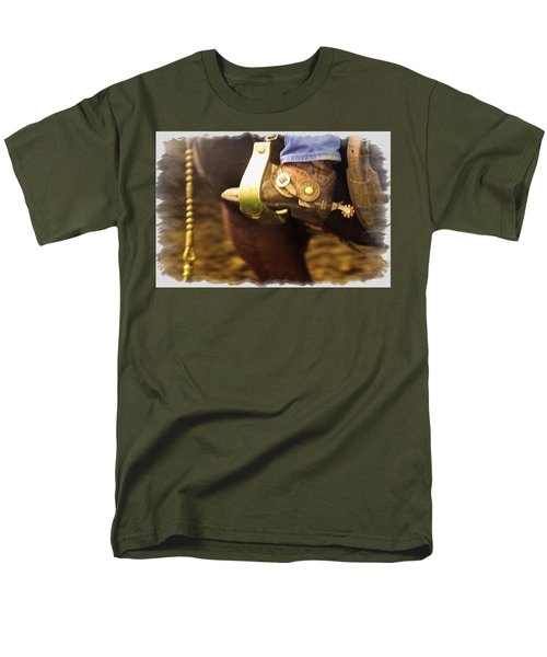Cowboy Boot T-Shirt by Carson Ganci