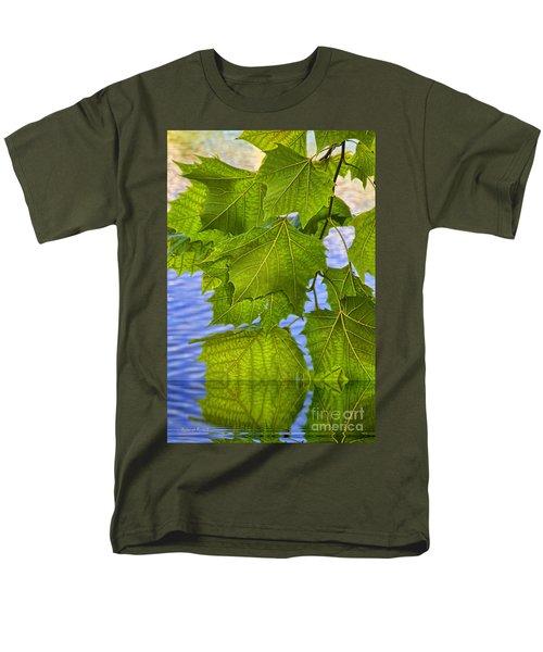 Dangling Leaves T-Shirt by Deborah Benoit