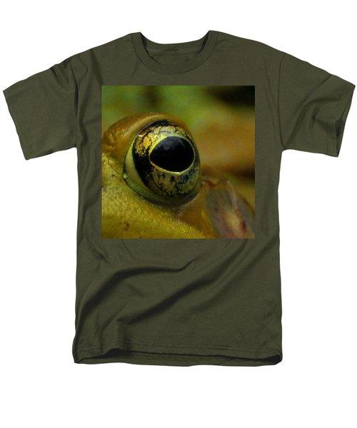 Eye Of Frog Men's T-Shirt  (Regular Fit) by Paul Ward