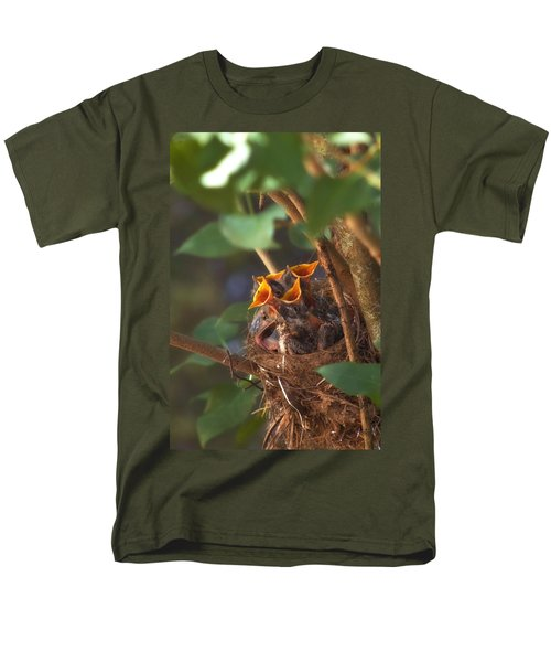 Feeding Time Men's T-Shirt  (Regular Fit) by Joann Vitali