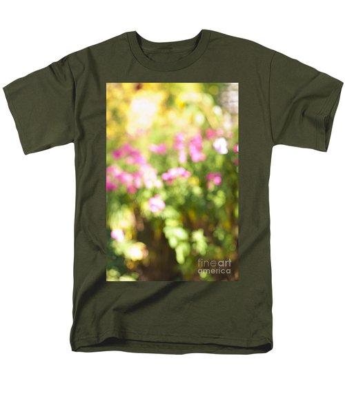 Flower garden in sunshine T-Shirt by Elena Elisseeva
