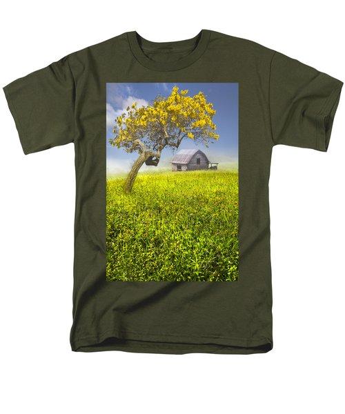Good Morning Spring T-Shirt by Debra and Dave Vanderlaan