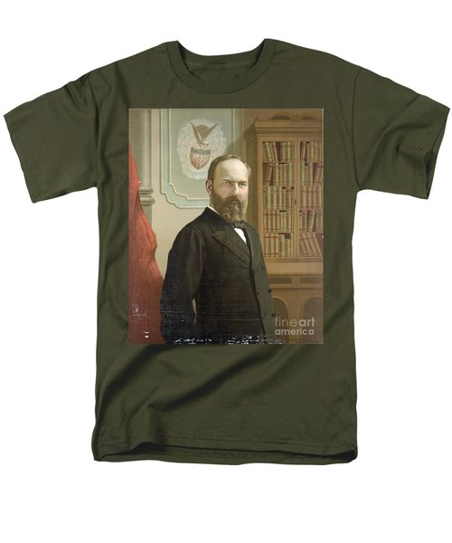 James A. Garfield, 20th American T-Shirt by Photo Researchers