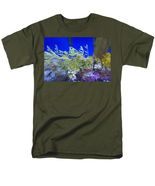 Leafy Seadragon Phycodurus Eques At The T-Shirt by Stuart Westmorland