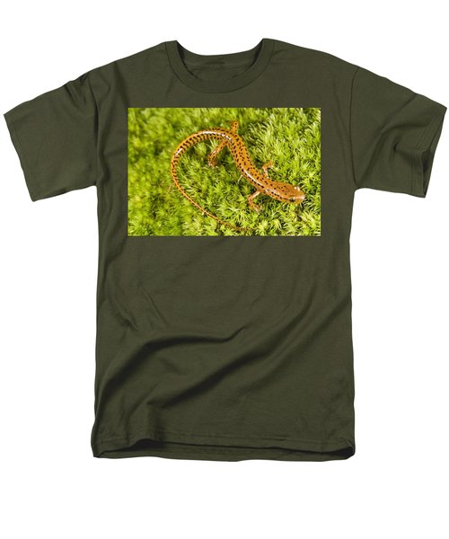 Longtail Salamander Eurycea Longicauda Men's T-Shirt  (Regular Fit) by Jack Goldfarb