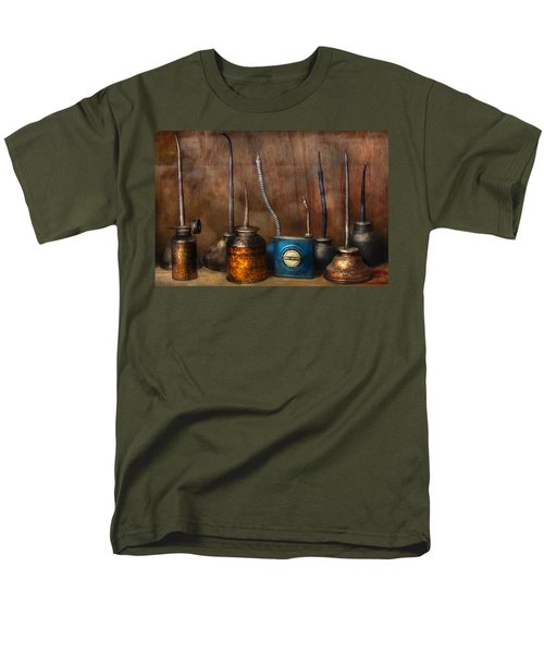 Machinist - Tools - Lubrication Dispensers  T-Shirt by Mike Savad