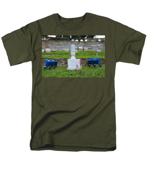 Phillies Harry Kalas' Grave T-Shirt by Bill Cannon