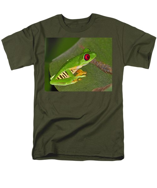 Red-eyed Leaf Frog T-Shirt by Tony Beck