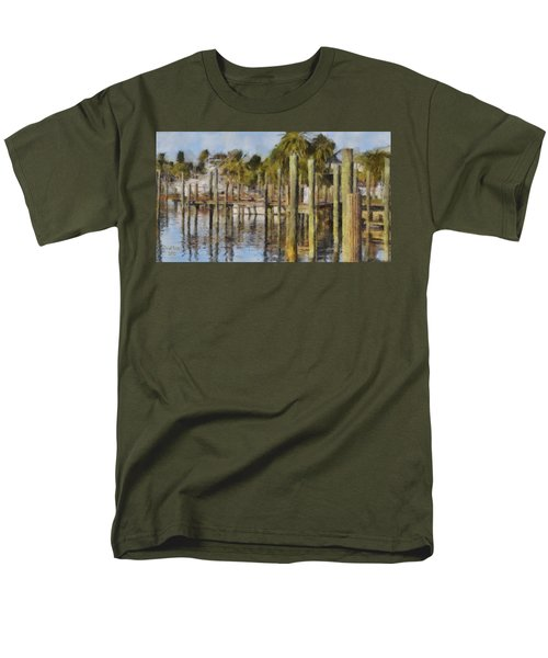 Reflections At Fort Pierce T-Shirt by Trish Tritz