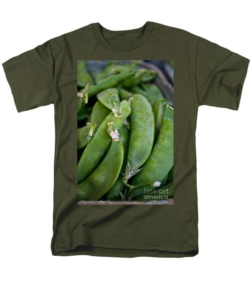 Snap Peas Please T-Shirt by Susan Herber