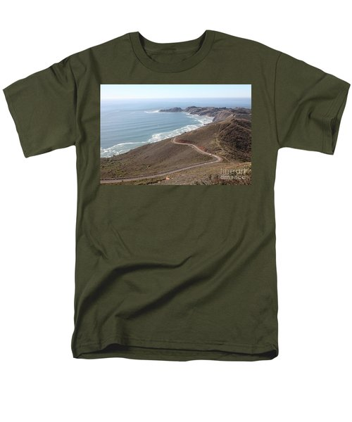 The Marin Headlands - California Shoreline - 5D19593 T-Shirt by Wingsdomain Art and Photography