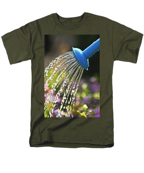 Watering flowers T-Shirt by Elena Elisseeva