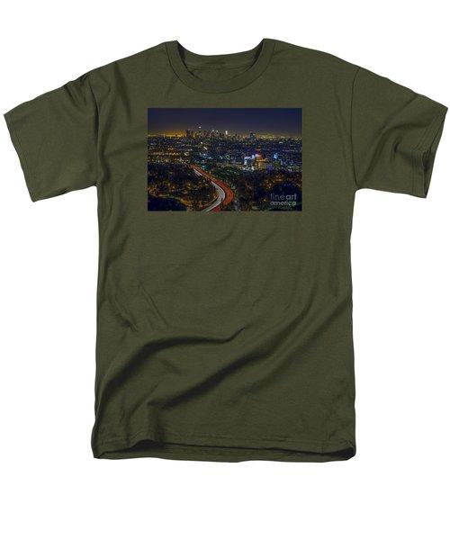 Los Angeles Sunrise Men's T-Shirt  (Regular Fit) by Art K