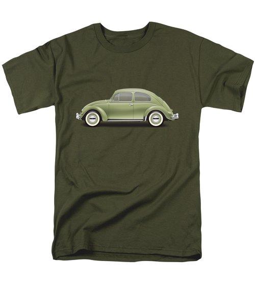 1957 Volkswagen Deluxe Sedan - Diamond Green Men's T-Shirt  (Regular Fit) by Ed Jackson