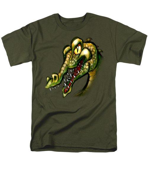 Crocodile Men's T-Shirt  (Regular Fit) by Kevin Middleton