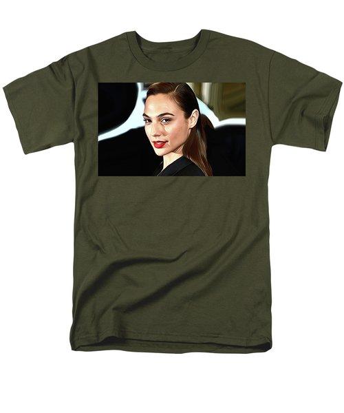 Gal Gadot Print Men's T-Shirt  (Regular Fit) by Best Actors