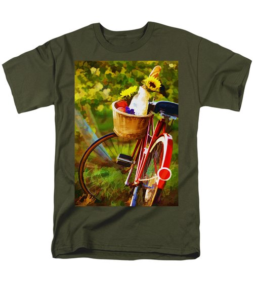 A Loaf of Bread a Jug of Wine and a Bike T-Shirt by Elaine Plesser