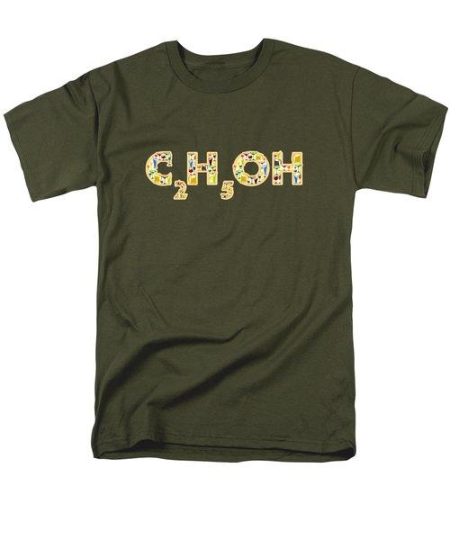 Alcohol Men's T-Shirt  (Regular Fit) by Anastasiya Malakhova