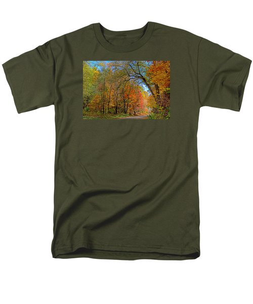 Men's T-Shirt  (Regular Fit) featuring the photograph Autumn Light by Rodney Campbell