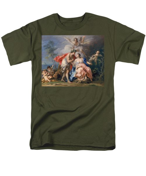 Bacchus And Ariadne Men's T-Shirt  (Regular Fit) by Jacopo Amigoni