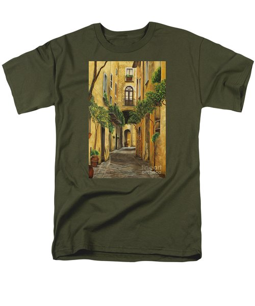 Back Street in Italy T-Shirt by Charlotte Blanchard
