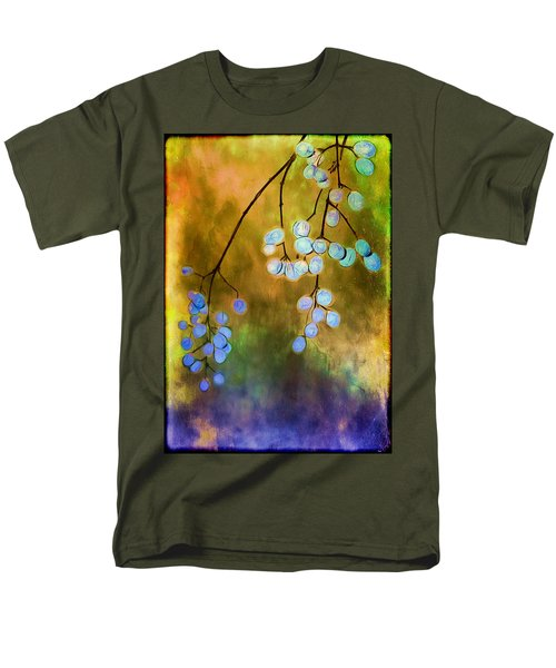 Blue Autumn Berries T-Shirt by Judi Bagwell