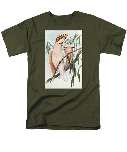 Cacatua Leadbeateri Men's T-Shirt  (Regular Fit) by John Gould