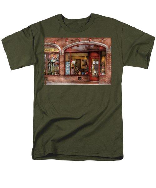 Cafe - Westfield NJ - Tutti Baci Cafe T-Shirt by Mike Savad