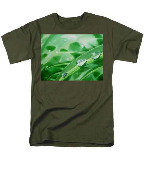 Dew Drops T-Shirt by Irina Sztukowski