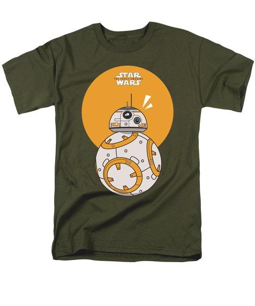 Dotted Starwars Men's T-Shirt  (Regular Fit) by Mentari Surya