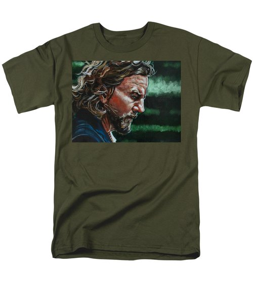 Eddie Vedder Men's T-Shirt  (Regular Fit) by Joel Tesch