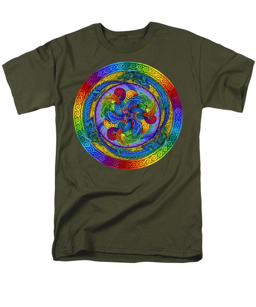 Epiphany Men's T-Shirt  (Regular Fit) by Rebecca Wang