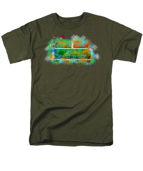 Forgive Brick Orange Tshirt Men's T-Shirt  (Regular Fit) by Tamara Kulish